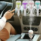 Mini Car Air Humidifier Diffuser Essential Oil Ultrasonic Aroma Mist Purifier FS