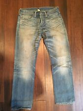 Double RL RRL Denim Jean Low Straight W30