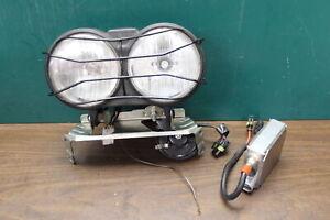 2003-2010 Buell Lightning City Xb9sx Front Headlight Lamp W/ Grill & Stay