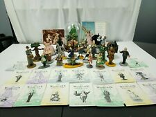 Vintage Franklin Mint Lot of 23 Wizard of Oz figurines