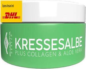 Kressesalbe   Kresse Salbe gegen Altersflecken und Pigmentflecken   100 ml