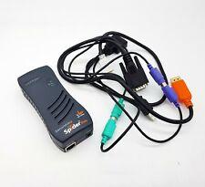Lantronix SLSLP400PS2 SecureLinx Spider Duo 080-421-001-R Remote KVM-Over-IP