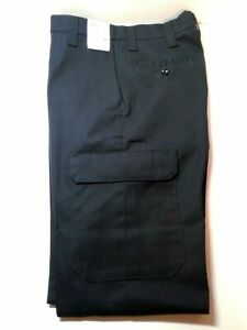 New Horace Small HS2360 EMT EMS Tactical Pants Men's 33 Unhemmed First Call Navy