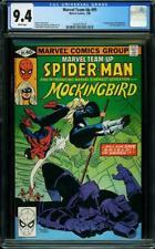 Marvel Team Up #95 CGC 9.4 1980 1st Mockingbird! Spider-Man! Avengers! H7 319 cm