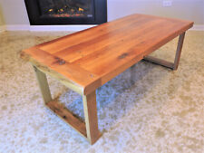 Barn Wood Coffee Table, Solid Oak. Reclaimed Hard Wood. Modern,Rustic. Hand Made
