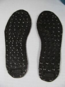 """Nikken Magnetic Insoles Magsteps Women's Size 8.5??? Cut Down to 10"""" long"""