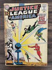 New listing Justice League Of America #12-Origin-1St Appearance Doctor Light-Batman Good 2.0