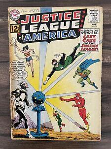 JUSTICE LEAGUE OF AMERICA #12-ORIGIN-1ST APPEARANCE DOCTOR LIGHT-BATMAN GOOD 2.0