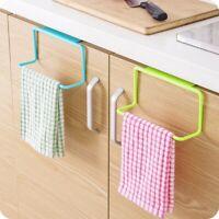 Kitchen Under Cabinet Towel Cup Paper Hanger Rack Organizer Storage Shelf Holder