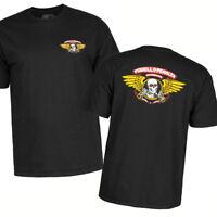 Bones Winged Ripper Powell Peralta T-Shirt Black Skull OG Skateboard M L XL XXL