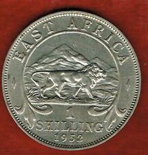 BRITISH EAST AFRICA 1952 1-SHILLING ..GEORGE VI...LION