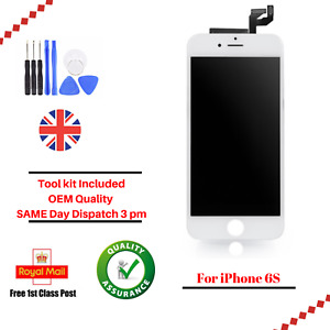 LCD For Apple iPhone 6S White Digitizer Screeen Assembly Touch Replacement
