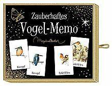 Schachtelspiel – Zauberhaftes Vogel-Memo (M. Bastin) | Buch | Zustand gut