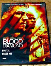 BLOOD DIAMOND  Movie Press Kit SIGNED AUTOGRAPH JENNIFER CONNELLY