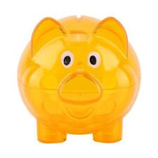 Piggy Bank Pig Shape Transparent Money Boxes Kids Gift Lovely Furniture Ornament