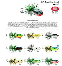 Rapala BX Skitter Frog // BXSF05 // 5,5cm 13g Fishing Lures (Choice of Colors)