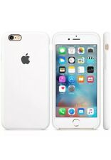 Blanco 100% Genuino Original Apple iPhone 6S 4.7 Estuche Silicona Caja Sellada