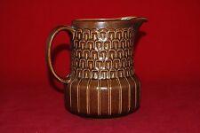 Wedgwood PENNINE pattern JUG in brown
