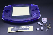Transparent Housing Shell Body Case Cover Part for Nintendo Gameboy Advance GBA