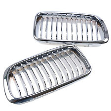 Chrome Front Grill Grille for BMW E38 740/750 7 Series 1995-2001 Sedan 4 Door