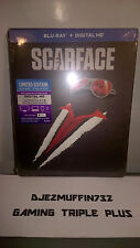 SCARFACE BLU-RAY LIMITED EDITION STEELBOOK