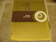 John Deere 6619A Engines & Accessories Parts Catalog Manual PC1563