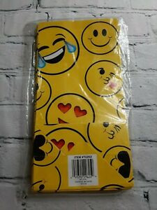 12 Pcs Emoji Party Birthday Gift Shower Holiday Yellow Candy Favor Paper Bags