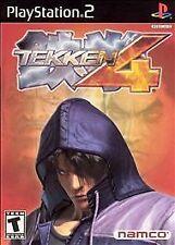 TEKKEN 4 PS2 PLAYSTATION 2 DISC ONLY
