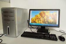 "Dell Inspiron 530 Intel C2D 2.20GHz 4GB 250GB Wi-Fi DVI HDMI w/20"" LCD Monitor"