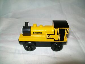 THOMAS & FRIENDS WOODEN RAILWAYS DUNCAN ENGINE