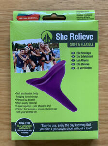 Summit Rubber She Relieve Flexible Funnel Portable Urinating Wee Cup Tube