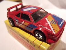 "MATCHBOX SUPERFAST,CHINA, MB52, BMW-M1, RED, ""1"",IN ORIGINAL BOX"
