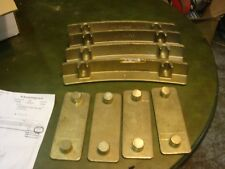 NOS Cat Style 140G / 140H Circle Brass Wear Strips - 6G4525 & 6G4525