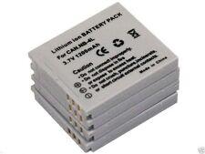 new 4pcs Battery NB-4L for IXUS 255 HS IXY 610F 230 HS Powershot SD430 TX1 NB4L