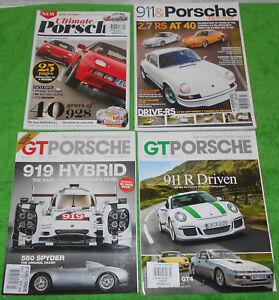 GT PORSCHE May 2014 July 2016 ULTIMATE PORSCHE May 2017 911 PORSCHE WORLD 2012
