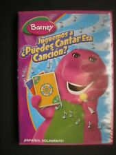Barney Spanish DVD Juguemos a Puedes Cantar Esa Cancion NEW Let's Play Sing Song