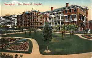 Shanghai China General Hospital c1910 Postcard