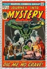 Journey Into Mystery #1 (1972) Fine (6.0) Dig Me No Grave ~ Marvel Comics