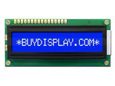 5V Blue 16x1 Character LCD Module Display w/Tutorial,HD44780,Bezel,Backlight