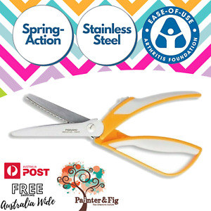 Fiskars Pinking Shears - Easy-Action Zig Zag Scissors - Arthritis