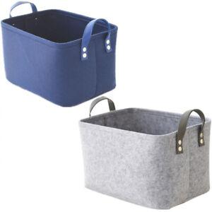 Filz Aufbewahrungskorb Aufbewahrungsbox Aufbewahrungskiste Filztasche Sack