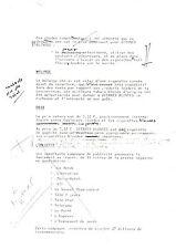 GAINSBOURG Publicité avec corrections manuscrites