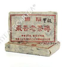 1990s 250g Yunnan JingMai Ancient Tree Jujube Pu'er Puer puerh Ripe Brick Tea