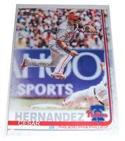Topps 2019 CESAR HERNANDEZ Philadelphia Phillies Baseball Card #331 Series One