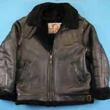 Abbigliamento vintage da uomo nere in pelle