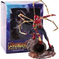 NEW Avengers Infinity War Iron Spiderman 1/10 Scale Action Figure Model Toy