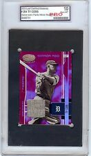 2003 Leaf Ty Cobb Game Worn Pants Jersey Mirror Red Refractor 6/15 PRO 10 1/1