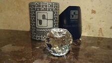 Vintage*RETIRED* Swarovski Silver Crystal BALL CANDLE HOLDER (1981-1988) Medium