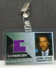Superman Smallville ID Badge-Luthorcorp Lionel Luthor cosplay