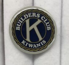 Kiwanis Builders Club Pin New K1